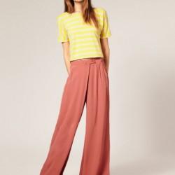 İddialı Yeni Sezon İspanyol Paça Pantolon Modelleri