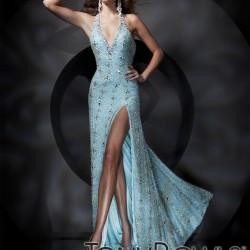 Buz Mavisi Yeni Sezon Tony Bowls Elbise Modelleri