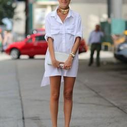 Kısa Gömlek Elbise Modelleri