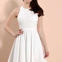 Kolsuz Beyaz Kısa Cengiz Abazoğlu Abiye Modelleri