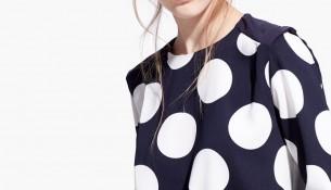 Puantiyeli Yeni Sezon Mango Bluz Modelleri