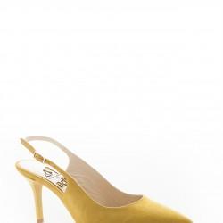 Sarı Sivri Burun Adil Işık Ayakkabı Modelleri