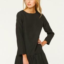 Siyah Elbise Mudo City Yeni Sezon Modelleri