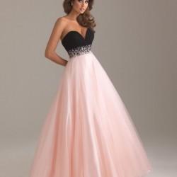 Straplez Yeni Sezon Mezuniyet Elbise Modelleri