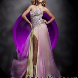 Straplez Yeni Sezon Tony Bowls Elbise Modelleri