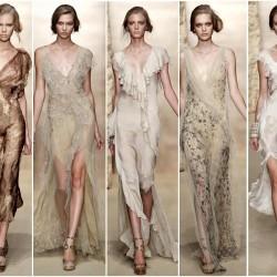 Toprak Rengi Elbise Modelleri