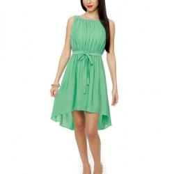 Zarif Mint Yeşili Elbise Modelleri