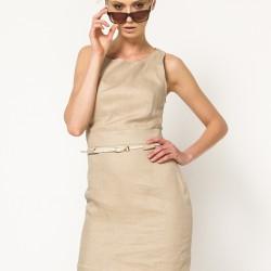 Zarif Yeni Sezon Keten Elbise Modelleri
