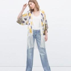 Şık Kimono Zara Ceket Modelleri