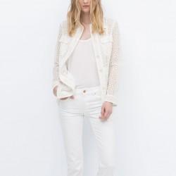 Beyaz Zara Ceket Modelleri