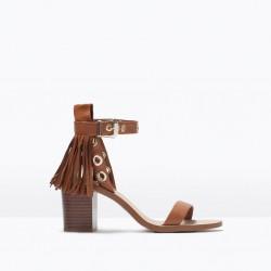 Bilekten Bağlamalı Zara 2015 Sandalet Modelleri