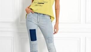 Buz Mavisi Kot Adil Işık Pantolon Modelleri