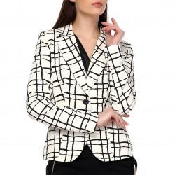 Desenli Ceket 2015 Yazlık Ofis Kıyafetleri