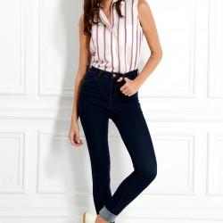 Koyu Lacivert Adil Işık Pantolon Modelleri