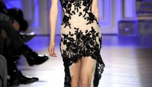Önü Kısa Arkası Uzun Güpürlü Elbise Modelleri