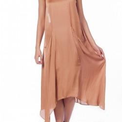 Boyundan Askılı Zara Elbise Modelleri