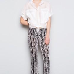 Desenli Pantolon Twist Yaz Sezonu Modelleri