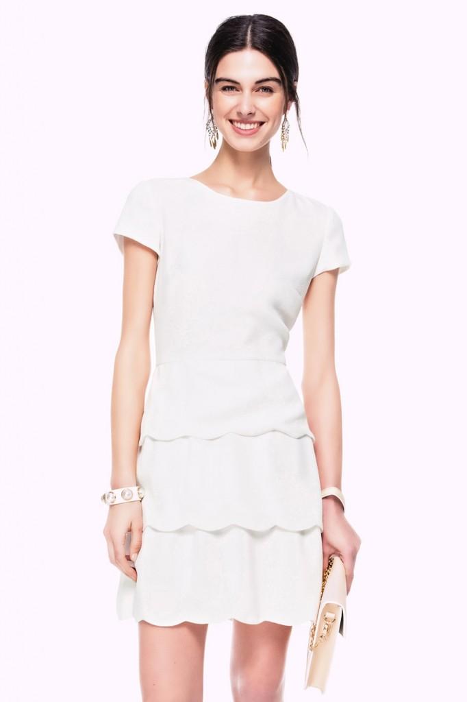 Sade Ekru İpekyol 2015 Elbise Modelleri