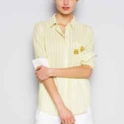 Sarı Gömlek Twist Yaz Sezonu Modelleri