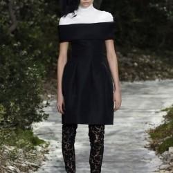Yeni Monokrom Elbise Modelleri