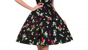 Çok Güzel Vintage Elbise Modelleri 2015