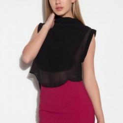 Transparan Siyah 2015 Bluz Modelleri