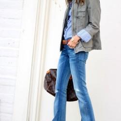 En güzel Flare Pantolon Modelleri