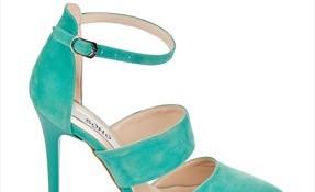 En zarif su yeşili ayakkabı modelleri