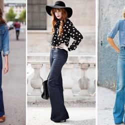 Yeni Trend Flare Pantolon Modelleri