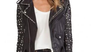 En Şık Bayan Zımbalı Ceket Modelleri