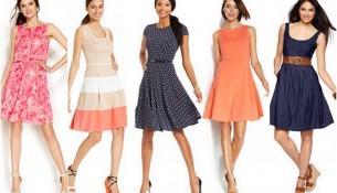 Kloş Elbise Modelleri 2016