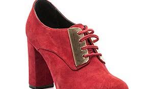 En Güzel Kalın Topuk Tergan Kışlık Ayakkabı Modelleri