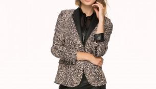 Leopar Desenli Bayan Ceket Modelleri 2016