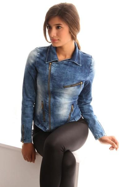Fermuar Detaylı Patırtı Ceket Modelleri