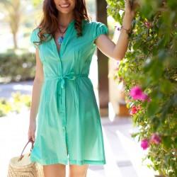 2016 Yazlık Gömlek Elbise Modelleri