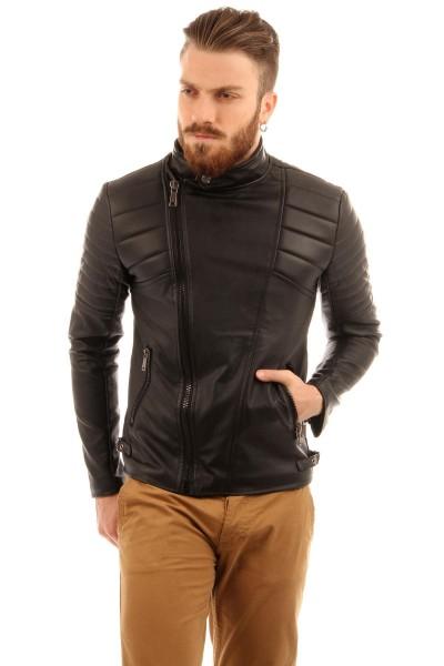 Hakim Yaka Çok Tarz Patırtı Erkek Ceket Modeli