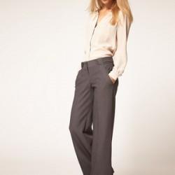 En Şık Yüksek Bel Kumaş Pantolonlar