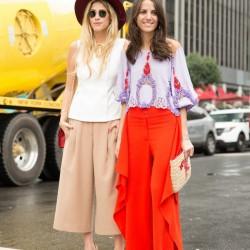 En Tarz Sokak Modası Pantolon Etek Modelleri 2016