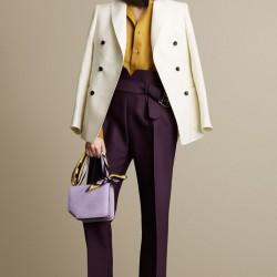 En Tarz Yüksek Bel Kumaş Pantolon Modelleri