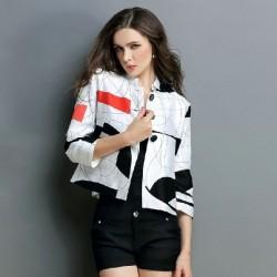 En Yeni Kısa Kollu Bayan Ceket Modelleri 2016