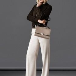 En Yeni Yüksek Bel Kumaş Pantolon Kombinleri