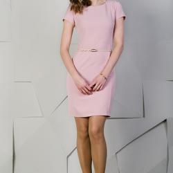 En Zarif Yazlık Pembe Elbise Modelleri 2016