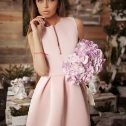 Yeni Sezon Pembe Elbise Modelleri 2016