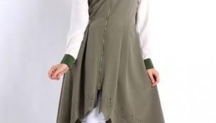 En Güzel Asimetrik Kesim Pantolon Üstü Tunik Modelleri 2016