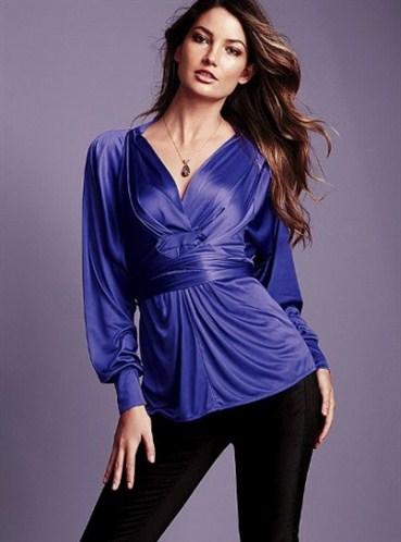 Çok Şık Ve Tarz Abiye Bluz Modeli