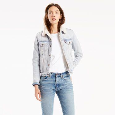 Cool Bayanlar İçin Oldukça Şık Levis Kot Ceket Modelleri