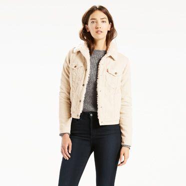 Kış İçin Levis Kot Ceket Modelleri