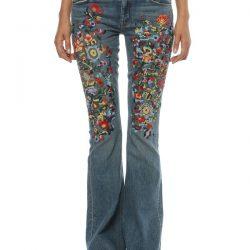 En Güzel Nakışlı Pantolon Modelleri 2017