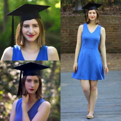 Sade ve Şık Mezuniyet Elbise Modelleri 2018