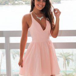 En Yeni Tül Detaylı Mini Elbise Modelleri